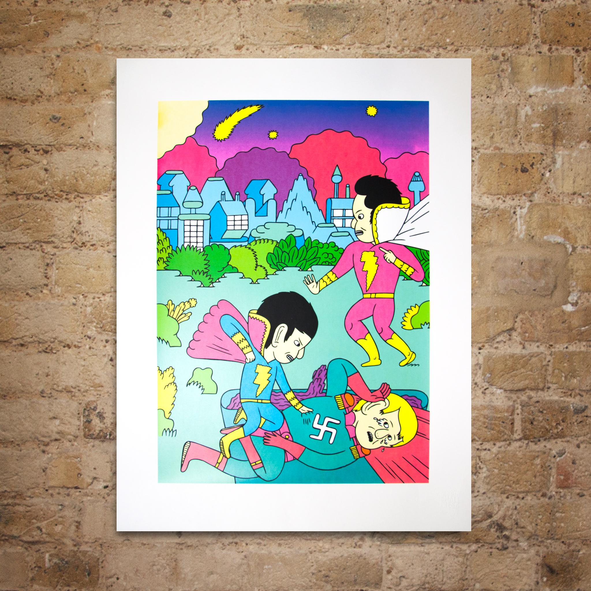 Shazam! 34 Print