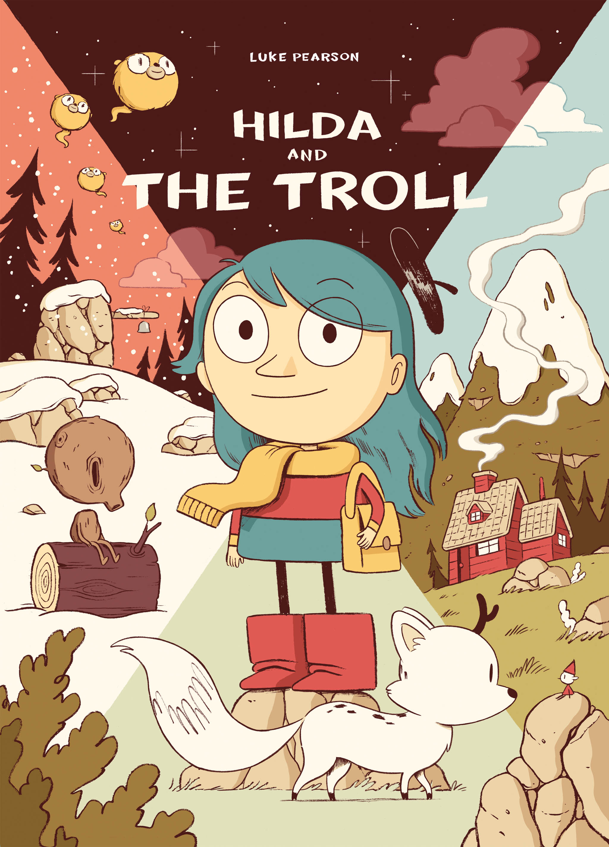 Hilda and the Troll Paperback