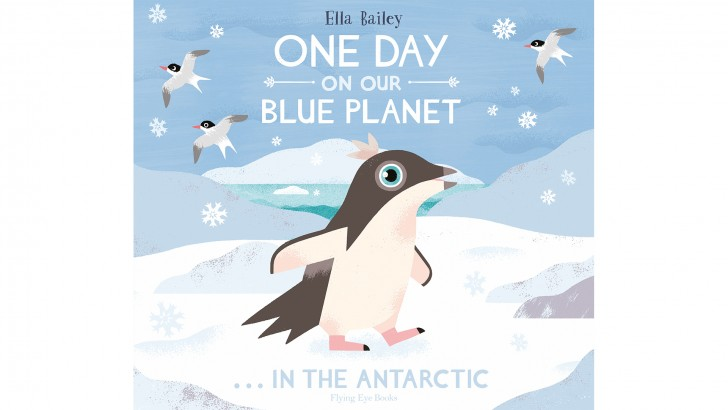 One Day on Our Blue Planet in the Antarctic Cover