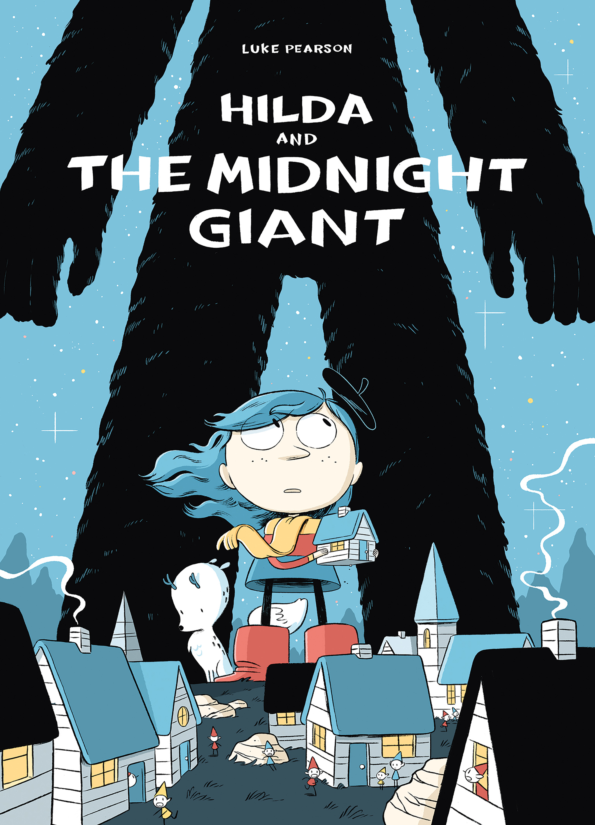 Hilda and the Midnight Giant Paperback