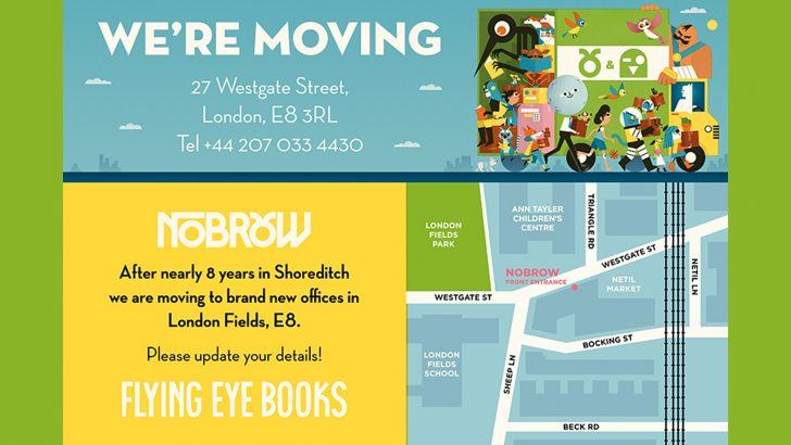 WE'RE MOVING! GOODBYE SHOREDITCH, HELLO HACKNEY!