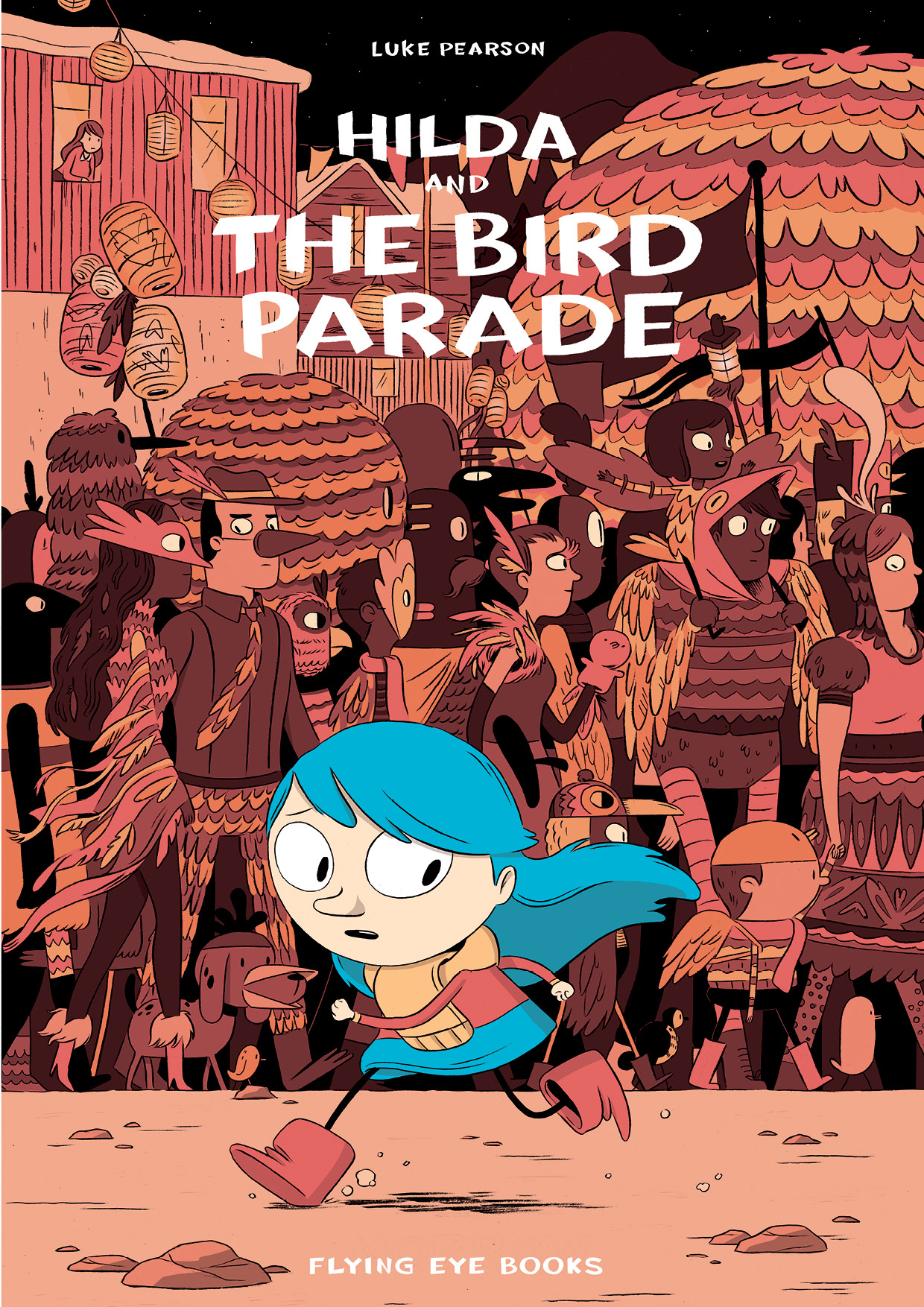 Hilda and the Bird Parade paperback