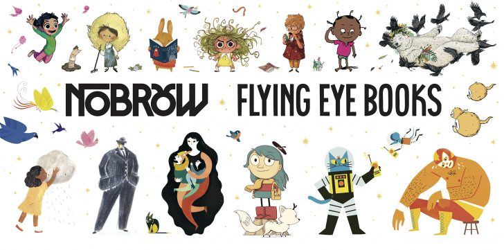 Find Nobrow/Flying Eye Books at ABA's Winter Institute and ALA Midwinter