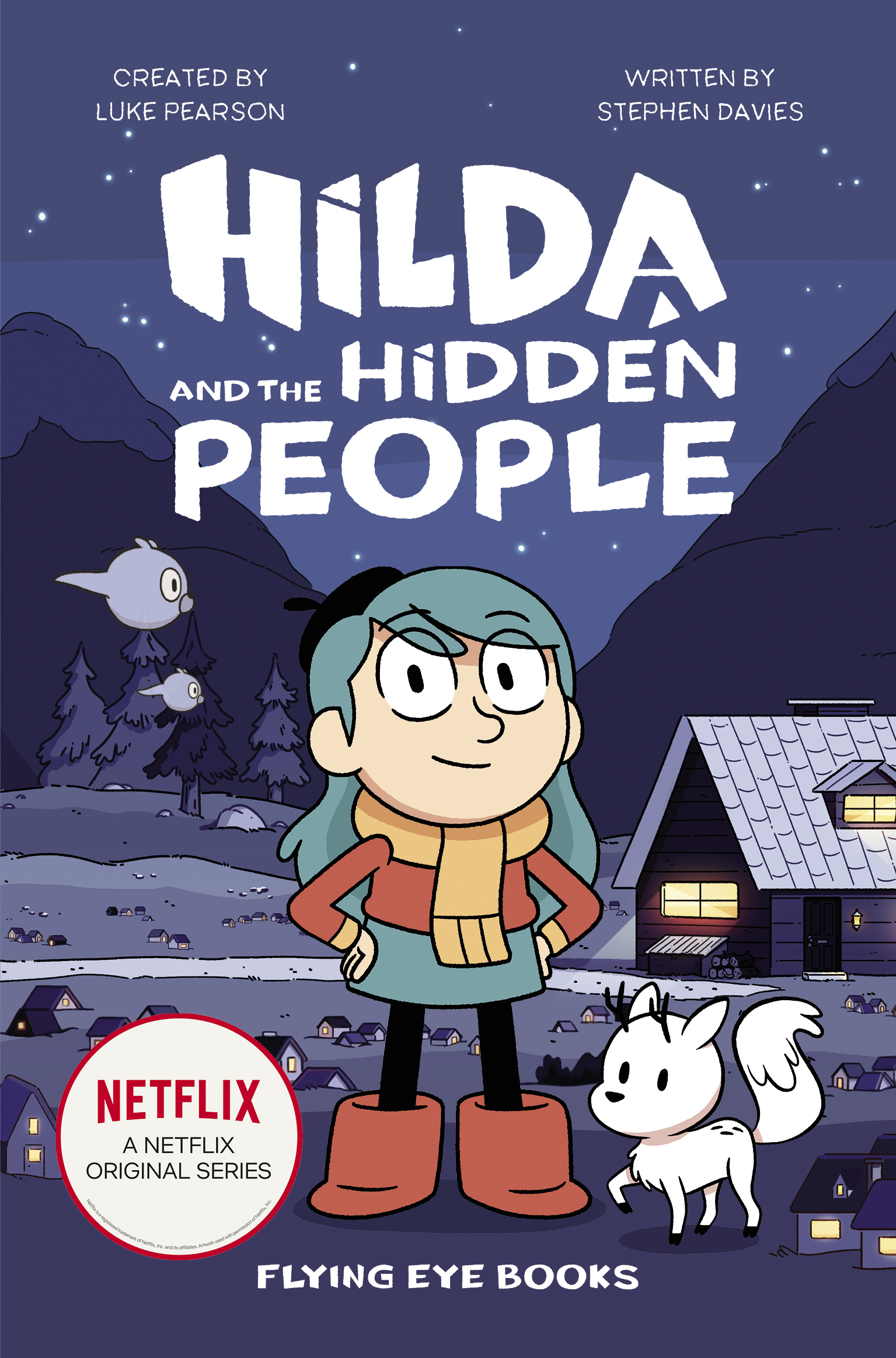 Hilda and the Hidden People (Paperback)
