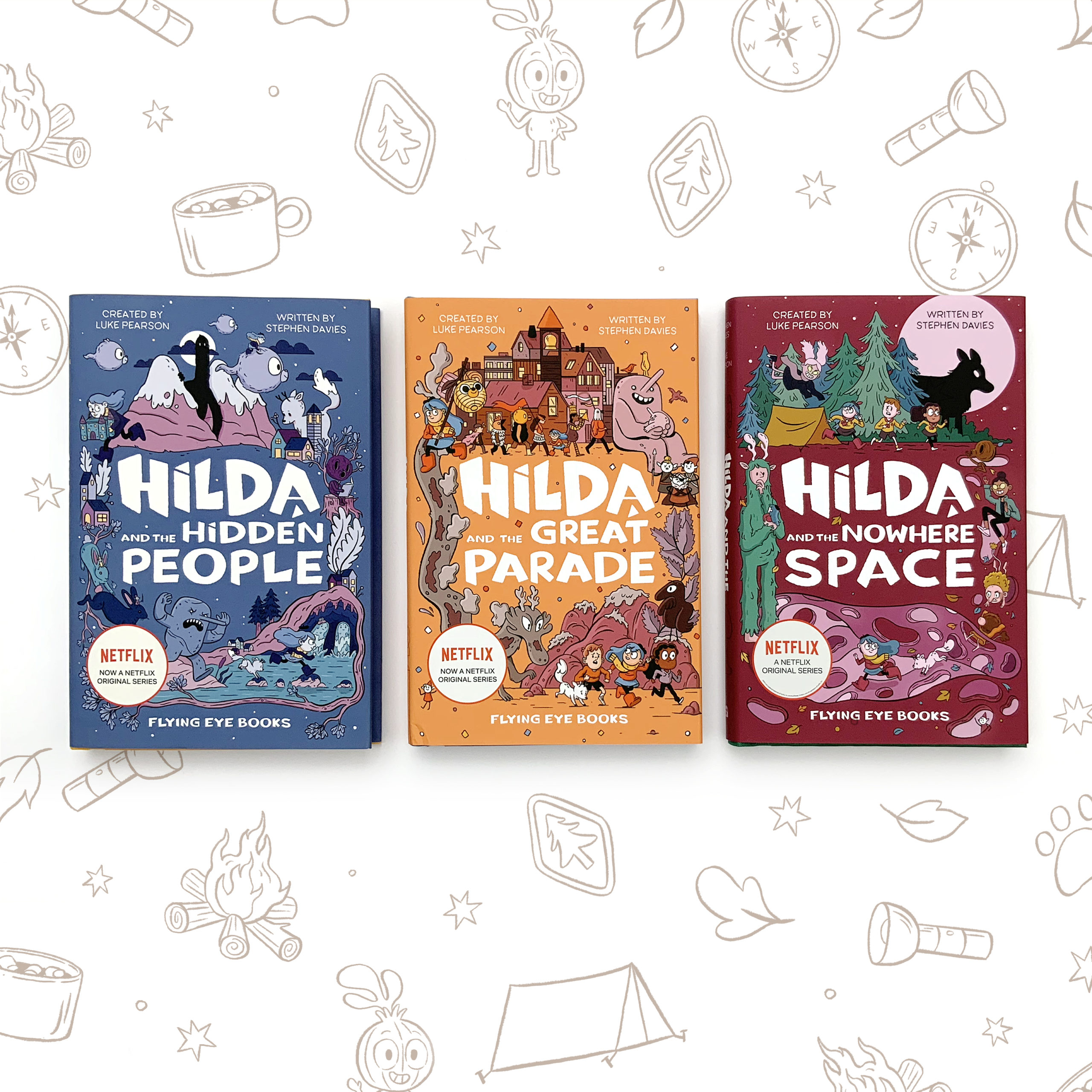 Hilda Fiction Bundle (33% discount)