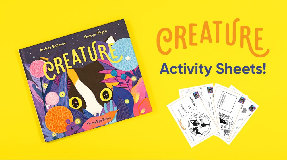 Creature Activity Sheets
